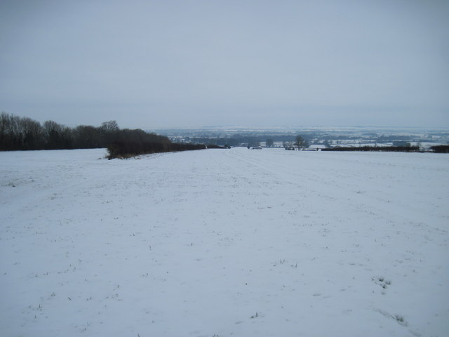A  Winter  view  down  into  the  Vale  of  Pickering