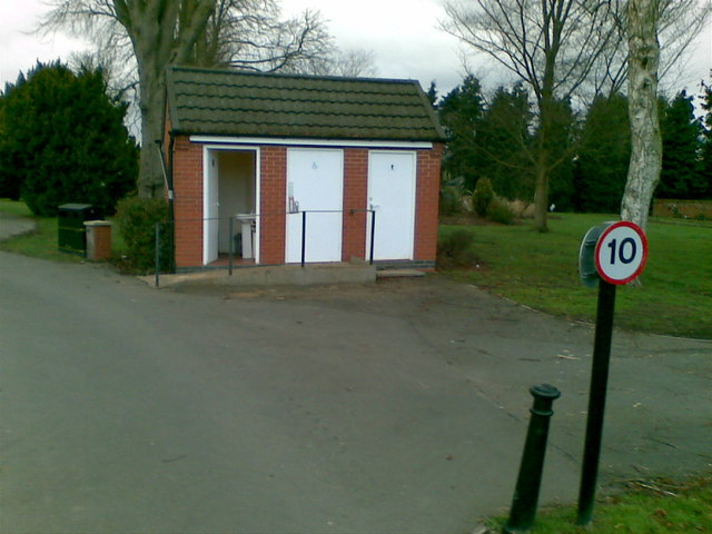Cemetery toilets