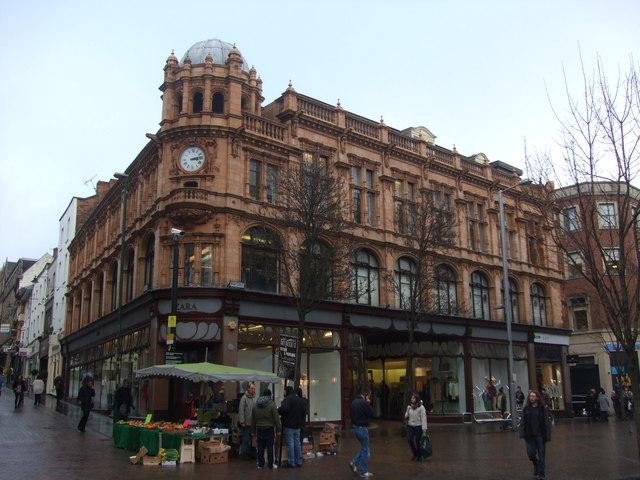 Zara in Nottingham