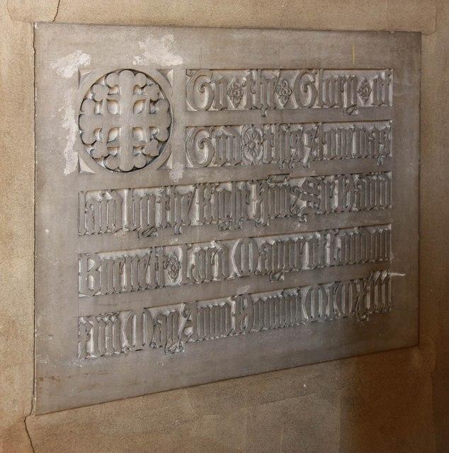 St Barnabas, Gorringe Park Avenue, Mitcham - Foundation stone