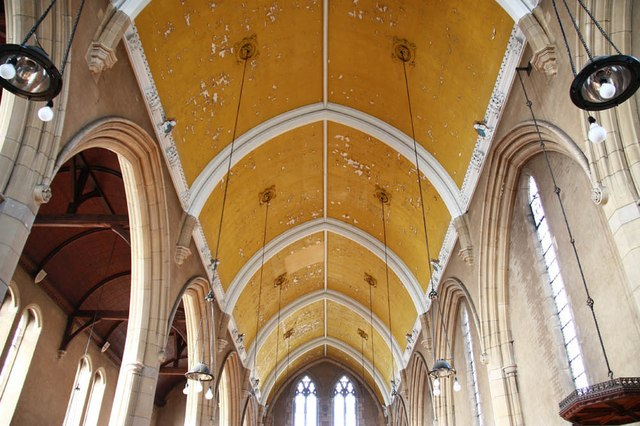 St Barnabas, Gorringe Park Avenue, Mitcham - Roof