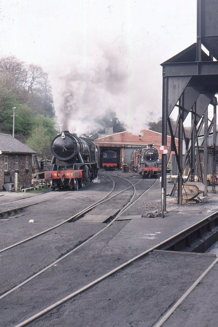 Grosmont: North Yorkshire Moors Railway, engine shed