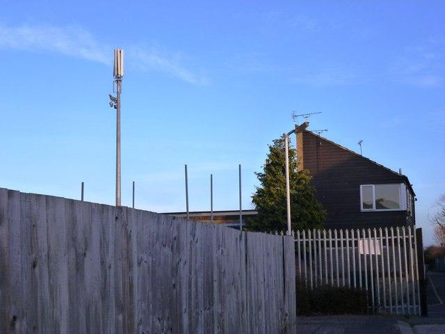 Telecommunication Mast at the Football Ground