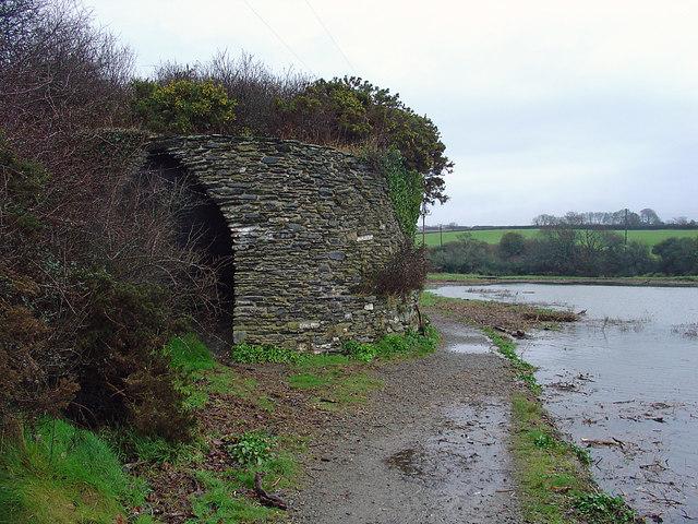 Berry Hill kiln: high tide