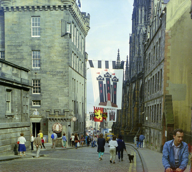 Castle Hill, Edinburgh, 1984