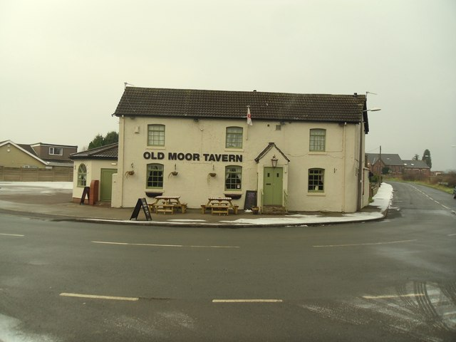 The Old moor tavern.