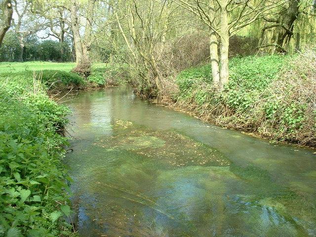 The river Bourne