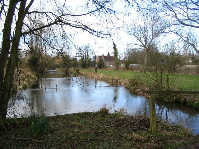 The river Kennet at Lower Denford