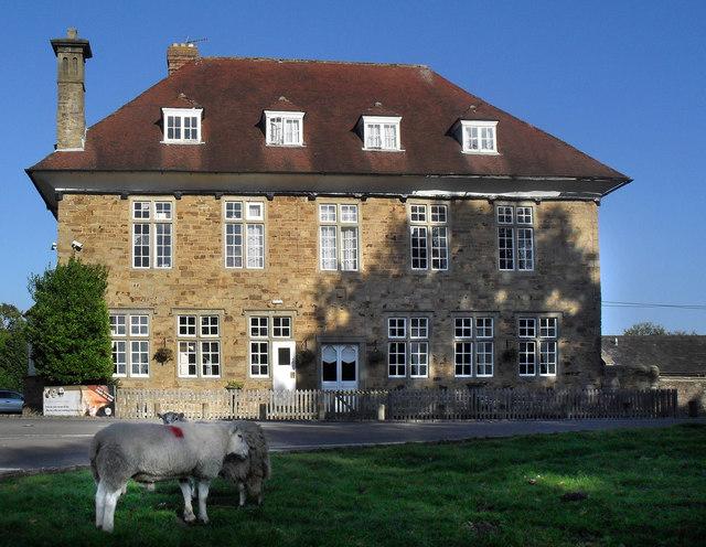 Sheep Outside The Speech House