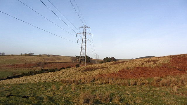 Beauly - Denny  power line