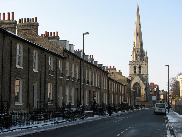 Jesus Lane in February