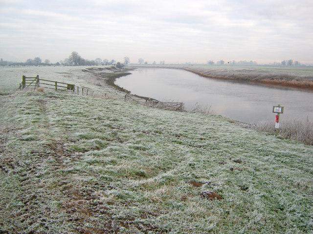 River Trent east of Carlton