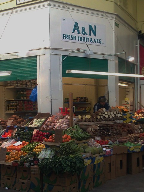 A&N Fresh Fruit & Veg, Brixton Village Market SW9