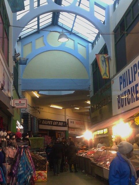 Shopping, Brixton Village Market, Atlantic Road SW9