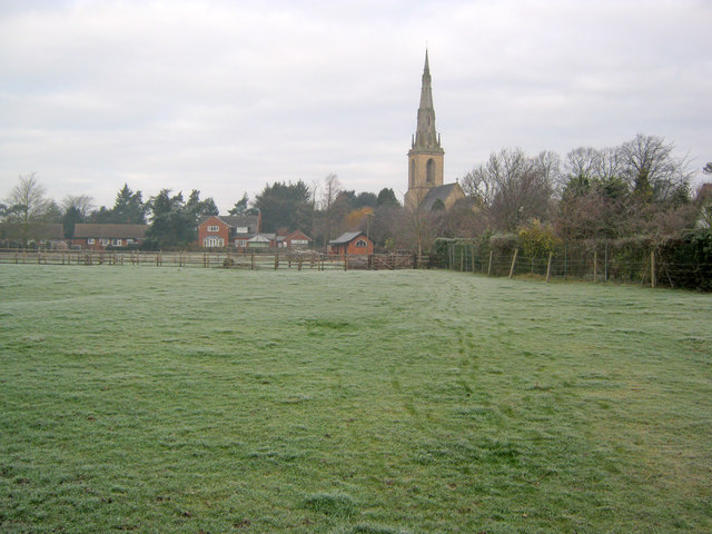 Footpath to St Mary's Church