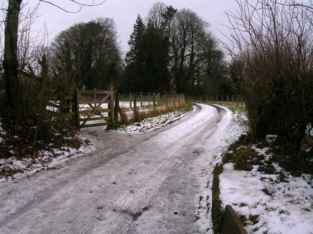 Track to Siddows Hall