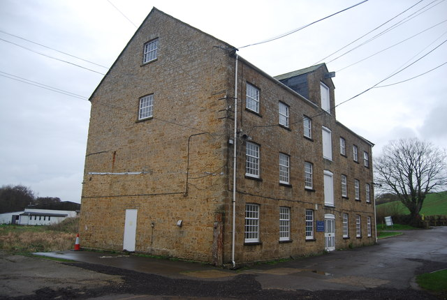 Pymore Mill - finished products building