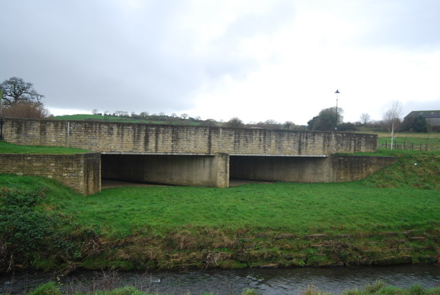 Flood relief channels, Pymore