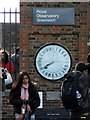 TQ3877 : Galvano-Magnetic 24 Hour Clock, Royal Observatory, Greenwich by Christine Westerback