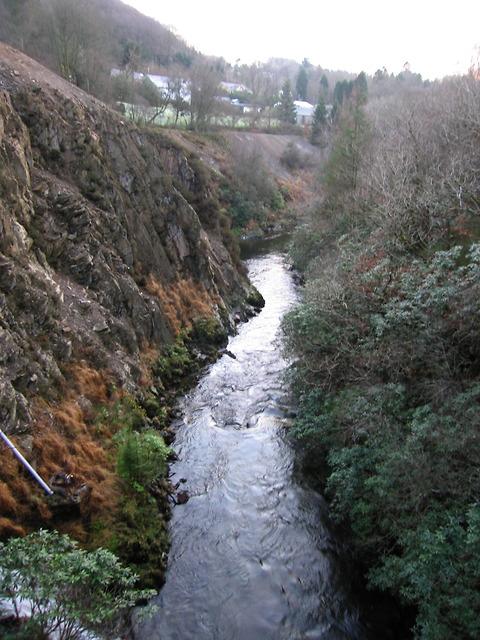 Ystwyth gorge