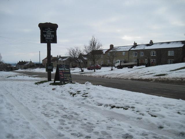 Newton on  Rawcliffe  village  street