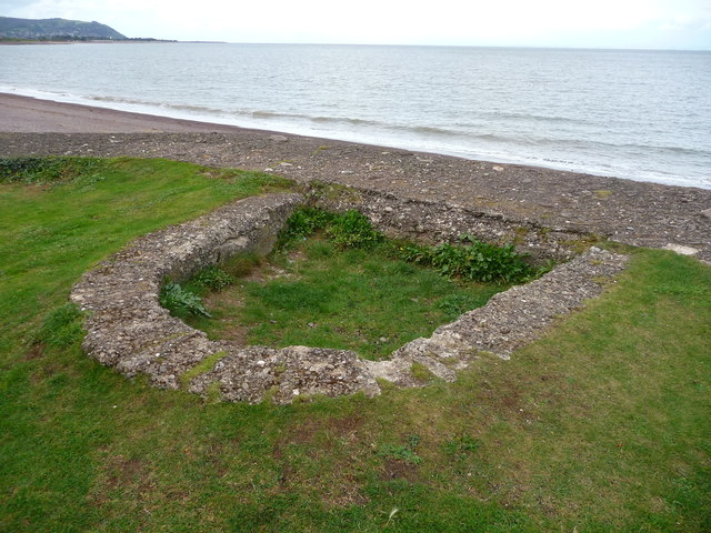 Blue Anchor - Gun Emplacement