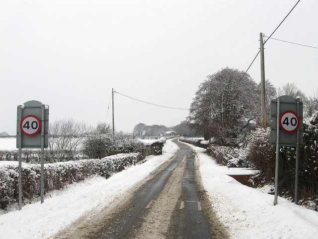 Lane to Chiddingly