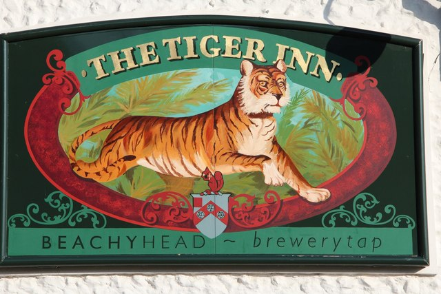 The Tiger Inn Sign