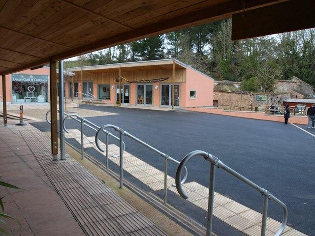 New craft centre buildings, Cockington