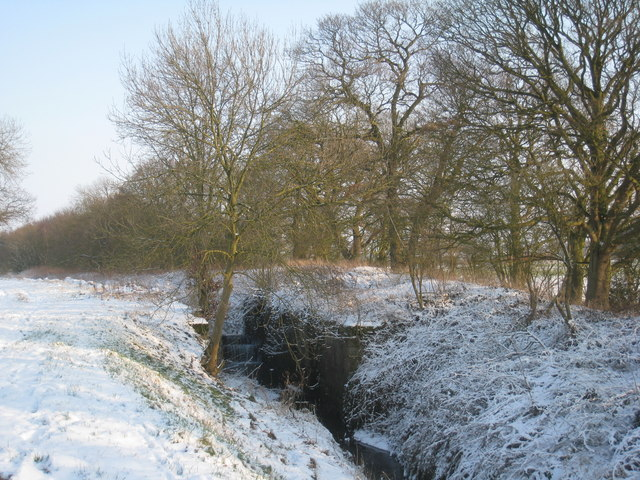 The remains of Moor Lock