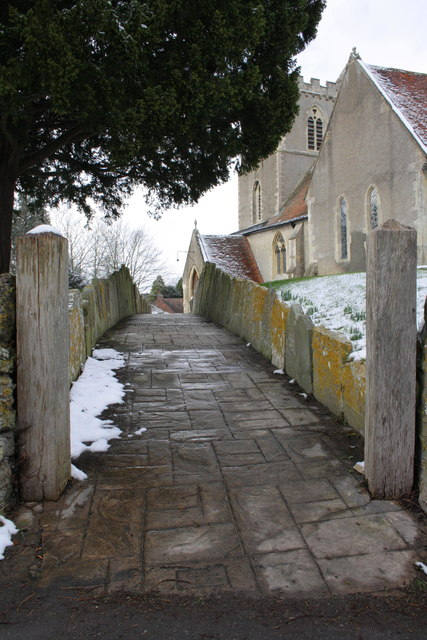 Footpath to St Matthew's Church