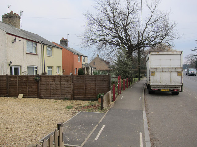 Houses on Stretham Road