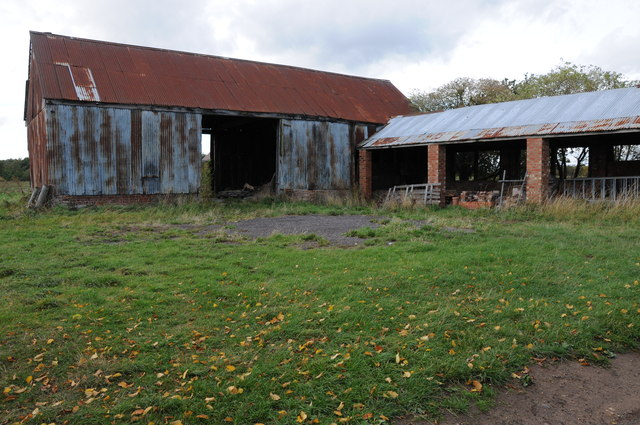 Farm buildings, York Lane