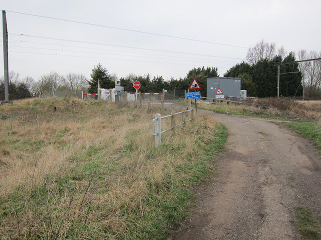 Little Thetford level crossing