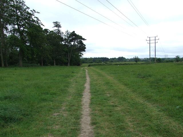 Castleman Trailway, Near Little Canford