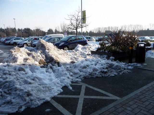 Car Park, Brookfield Farm Retail Centre, Hertfordshire