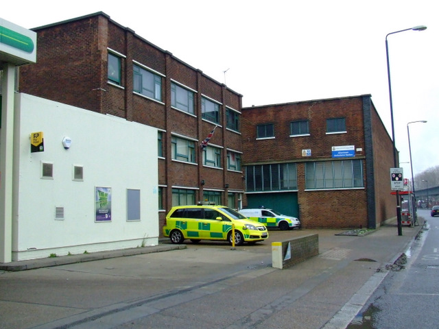 Silvertown Ambulance Station
