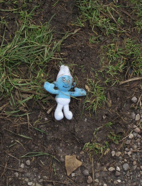 Smurf on Stantaway Hill