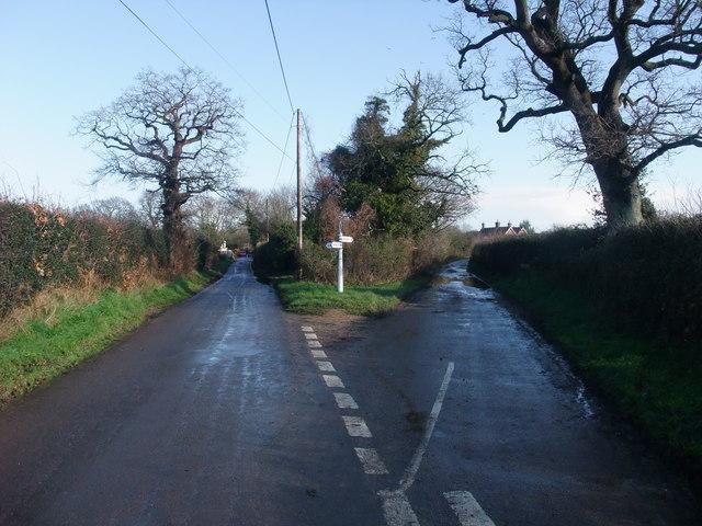 Harrow Road leaving Bockhampton Road