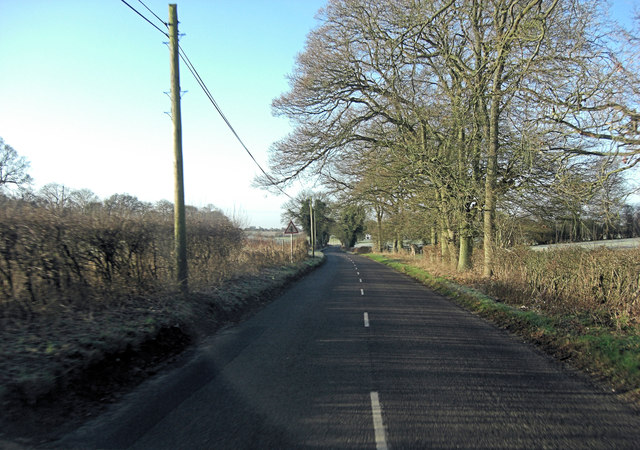 Minor road north of Witnal