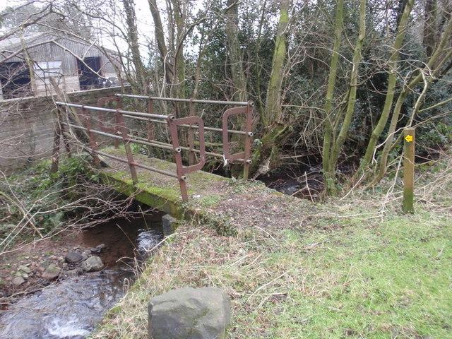 Pontdroed Glangwyddan Footbridge, Llandybie