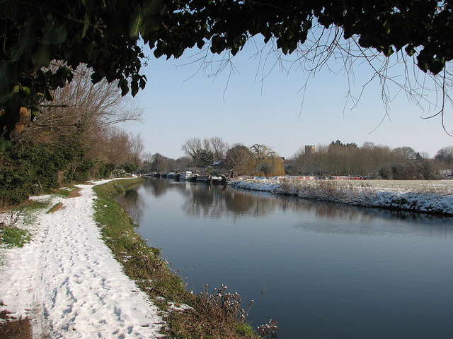 The Cam near Horningsea