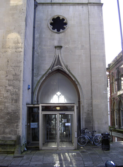 Entrance to St Nick