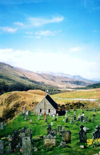 Cille Choirill Church and graveyard
