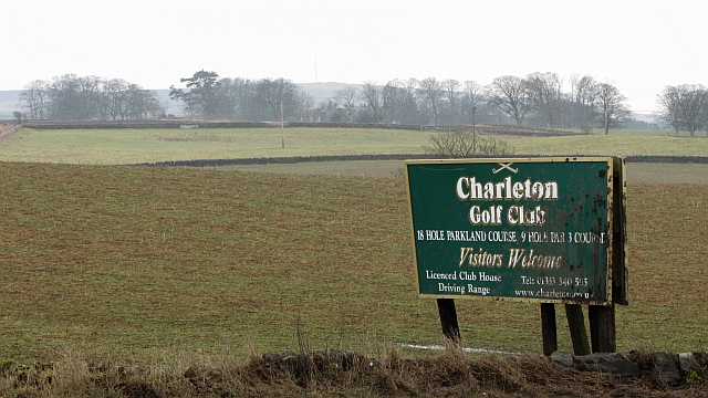 Charleton Golf Club sign