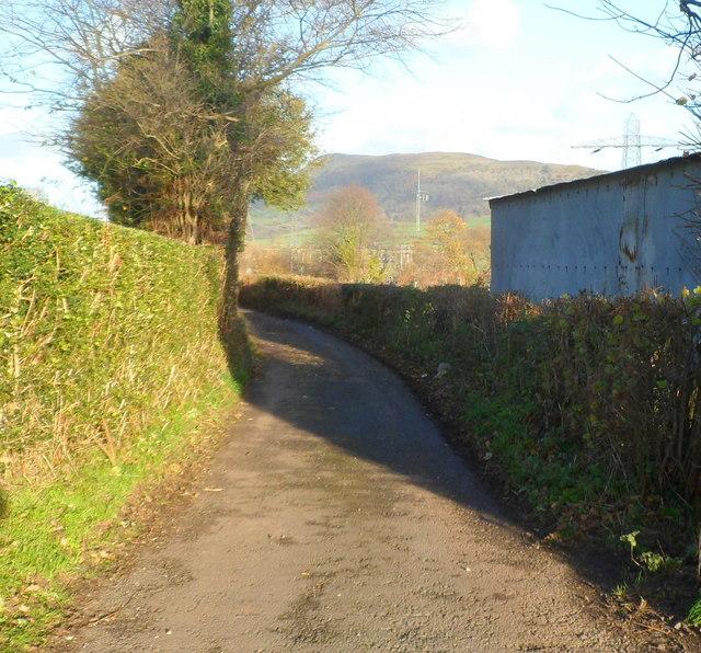 Farm building alongside Deri Road, Abergavenny