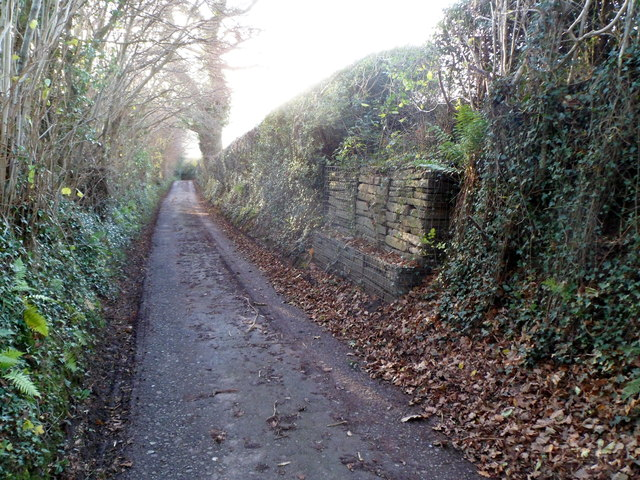 Roadside stones, Deri Road, Abergavenny