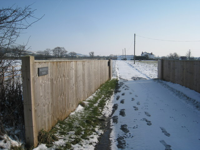 Entrance to Heatfield Farm