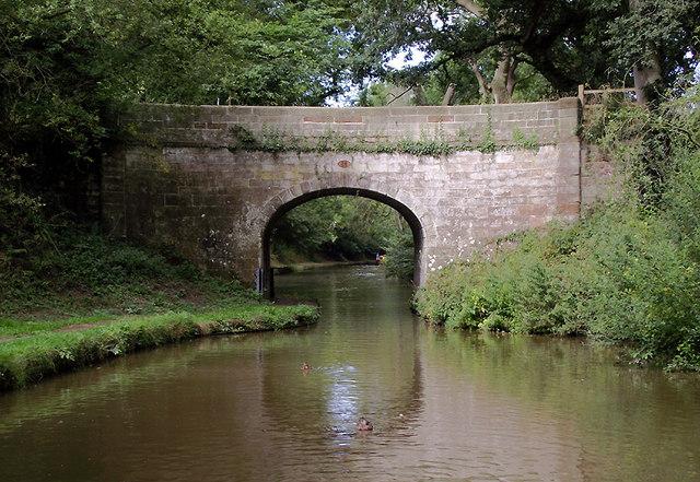 Plardiwick Bridge near Gnosall Heath, Staffordshire