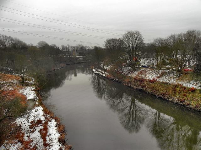 River Irwell at Ringley